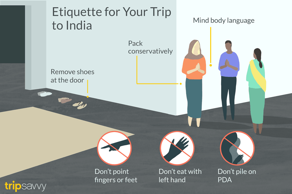 Etiquette for your trip to India