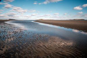 Popham Beach, Maine, Sky Reflection