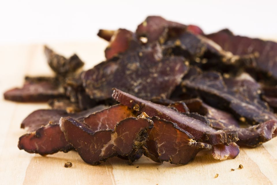 South African Delicacies Biltong