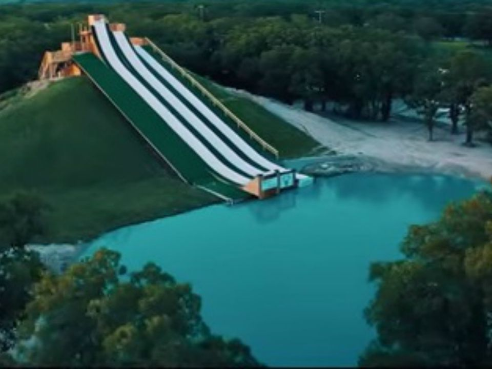 Royal Flush Water Slide & Jump | Waco, TX | YouTube