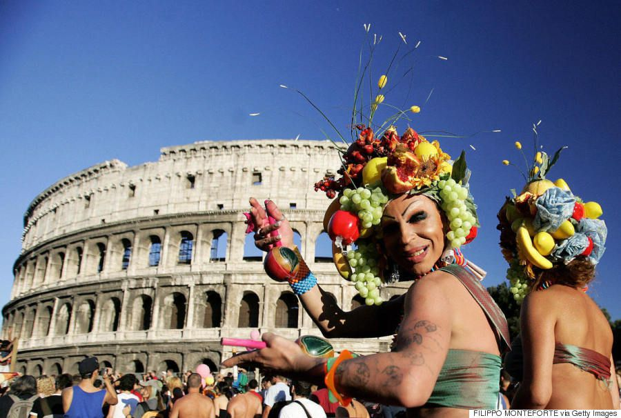 Rome Italy Gay Pride