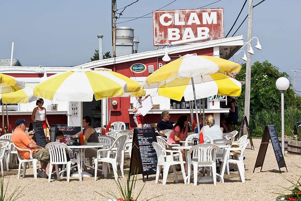 Clam Bar Amagansett Dining