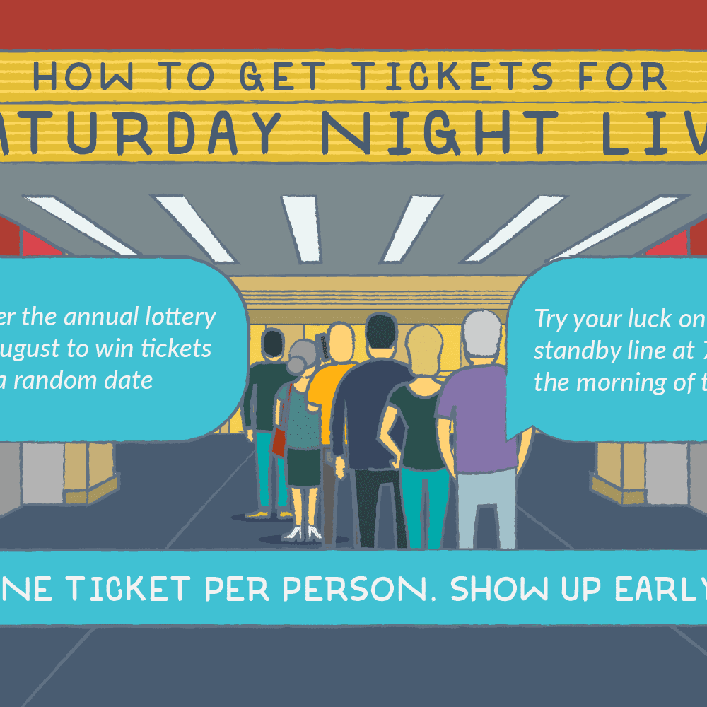 Where to Get Saturday Night Live Tickets