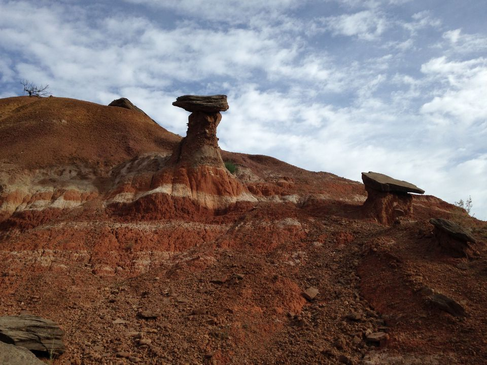 Hoodoo at Palo Duro Canyon State Park, Texas