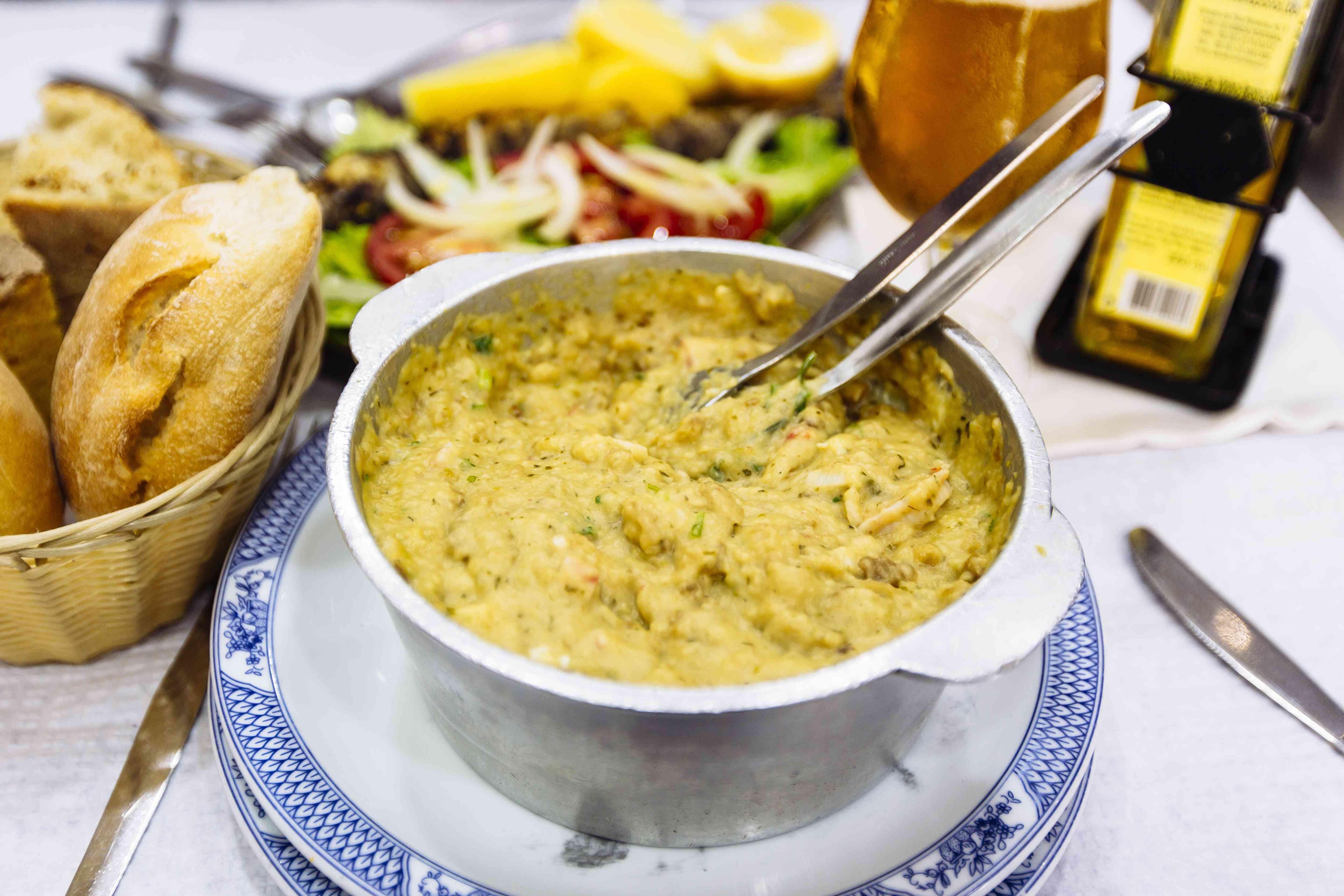 Acorda De Marisco - Traditional Portuguese seafood stew