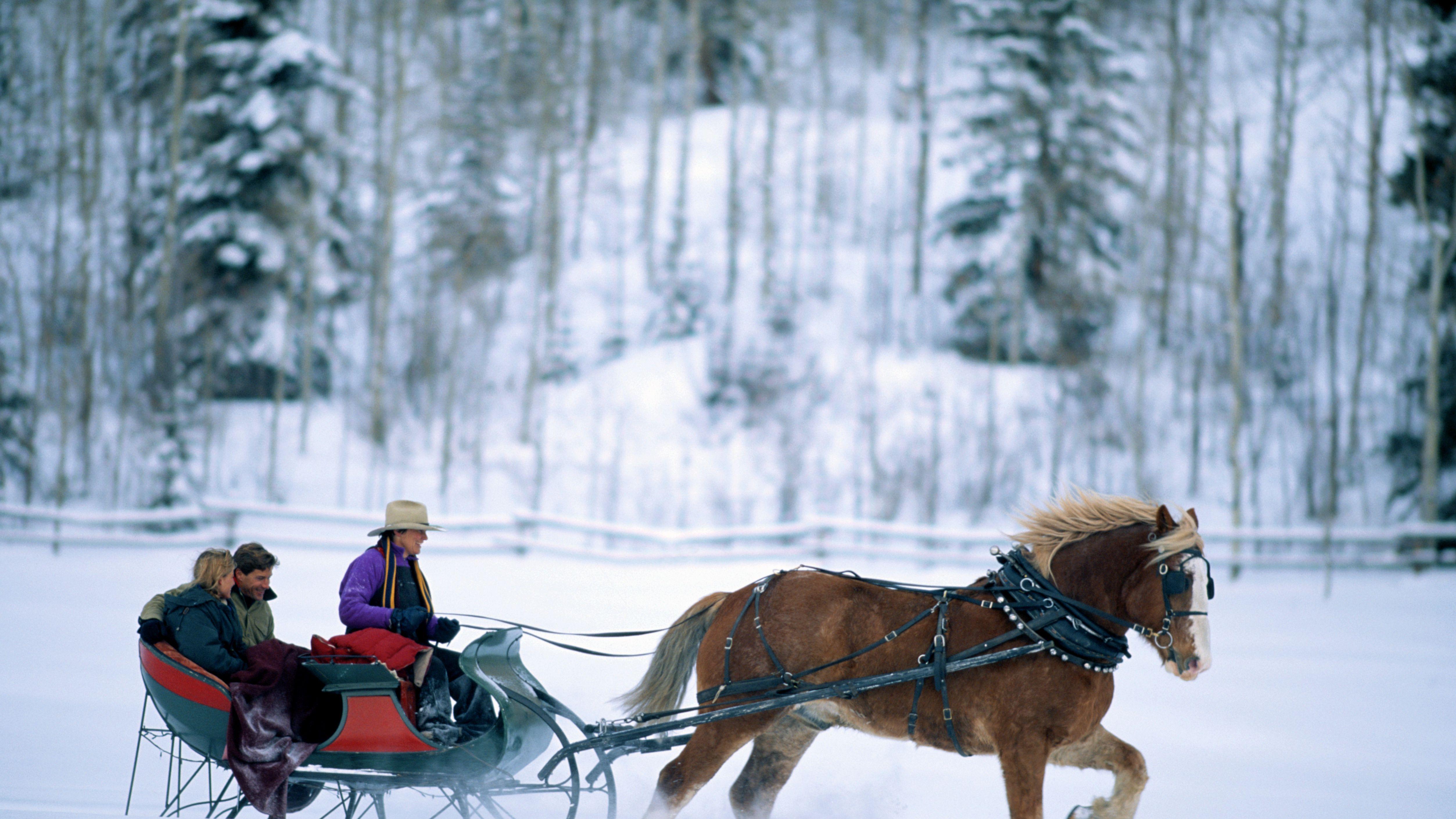 sleigh ride near me