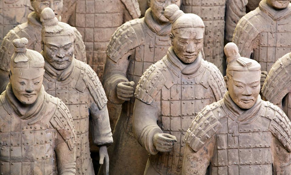 Terracotta Army Warriors, Xian, China