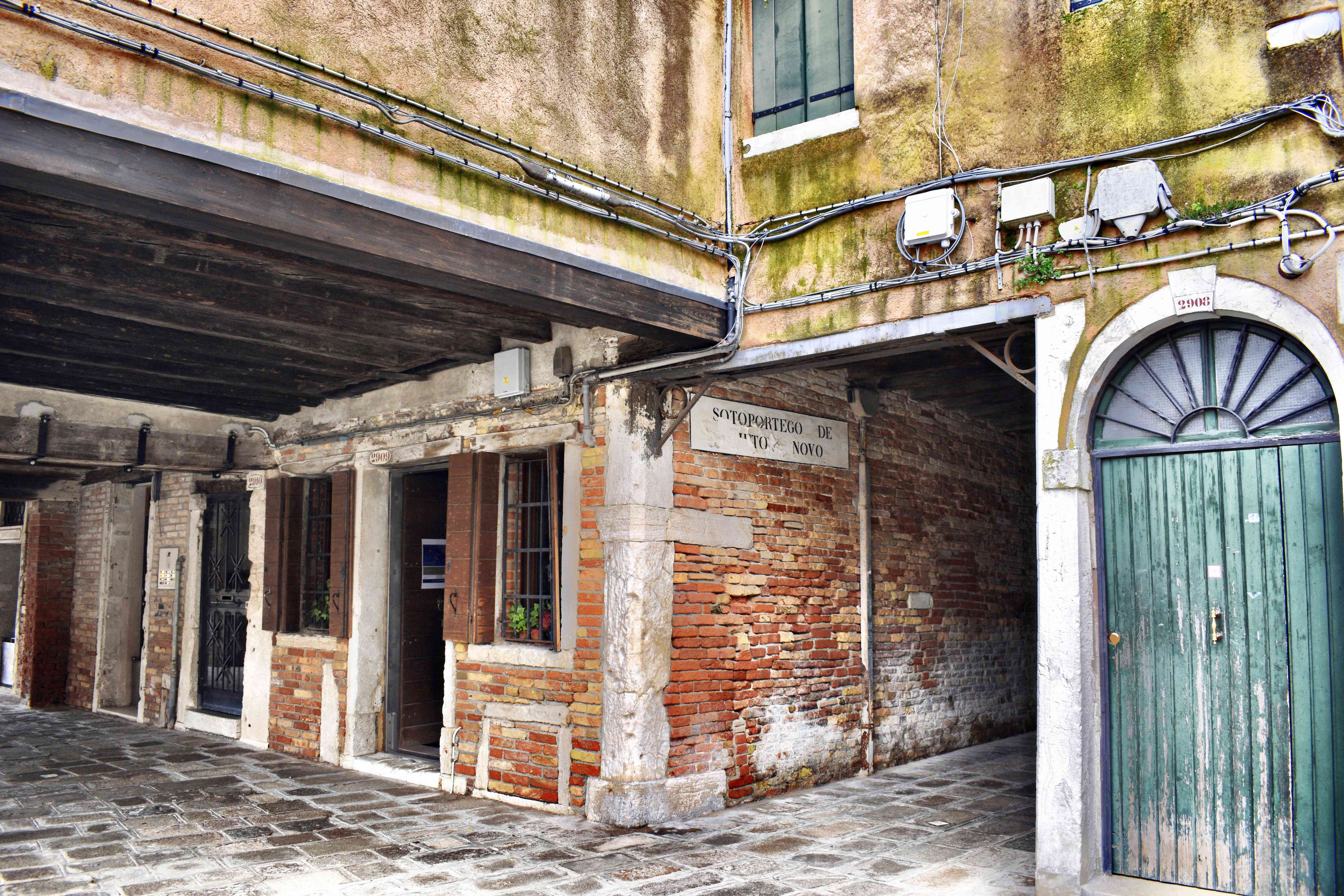 old buildings in the Jewish Ghetto