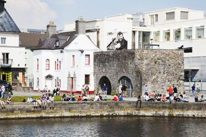Medieval arch in Galway