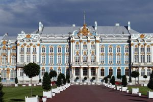 Entrance to the Catherine Palace