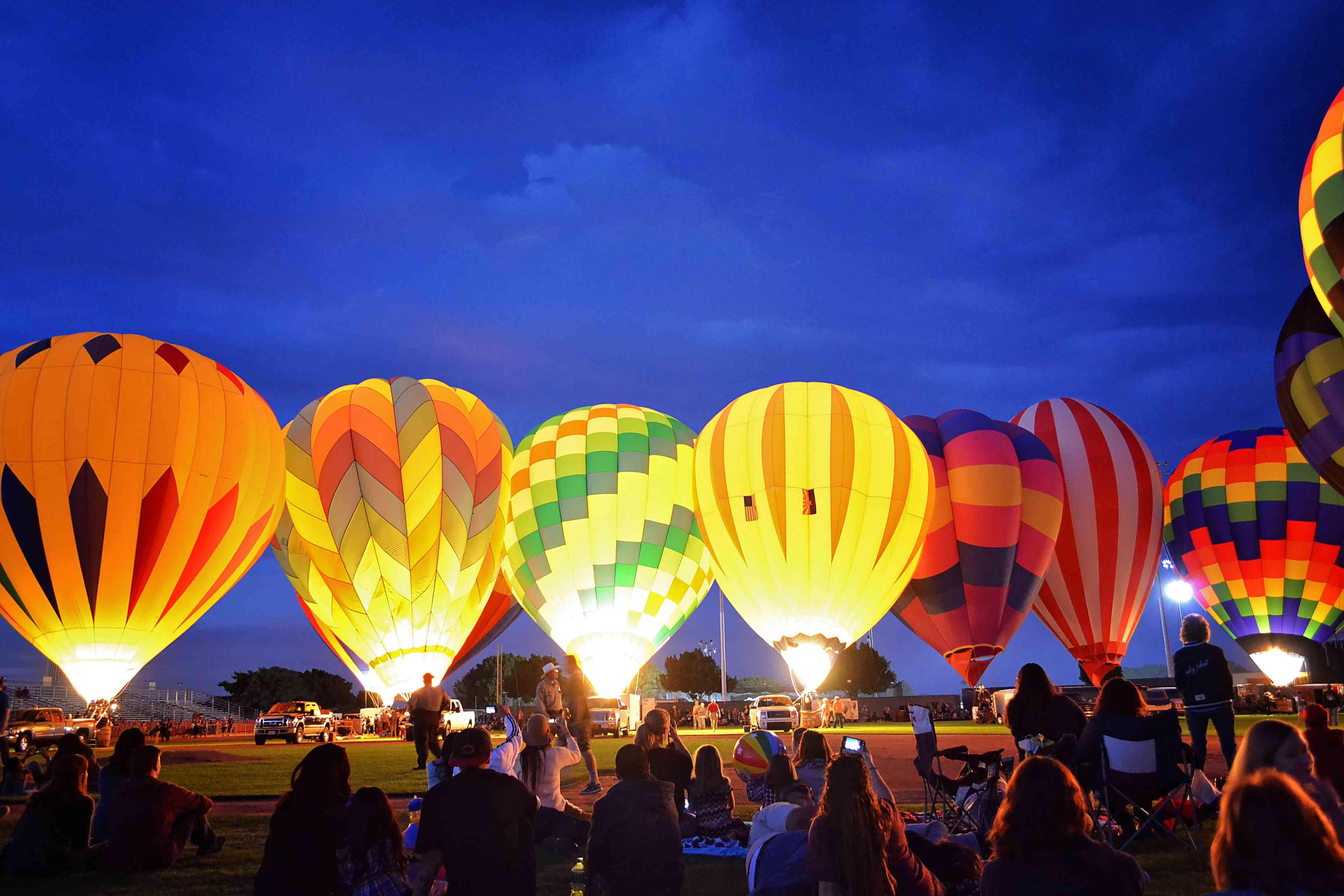 Evening Balloon Glow