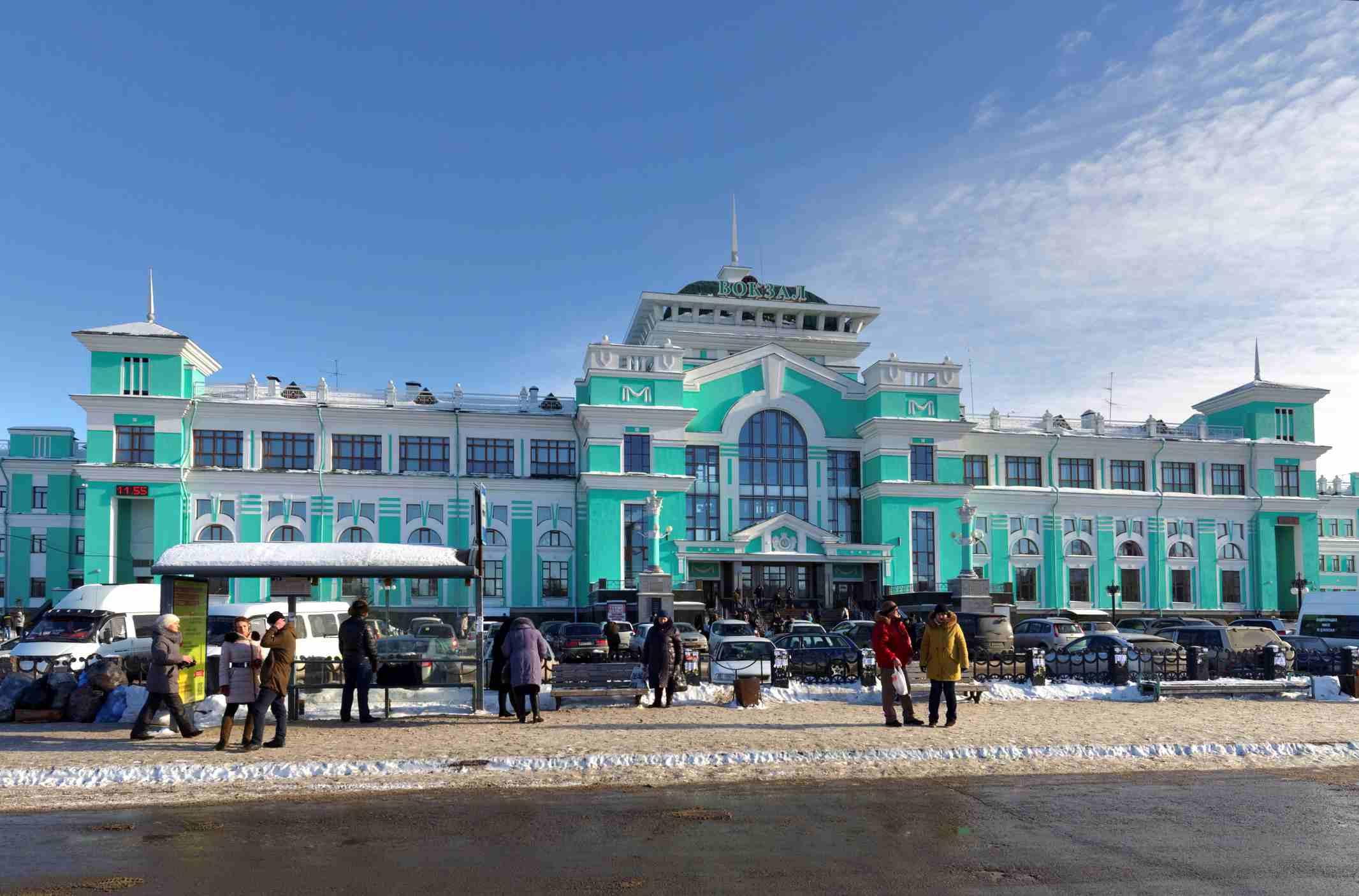 Omsk Railway Station