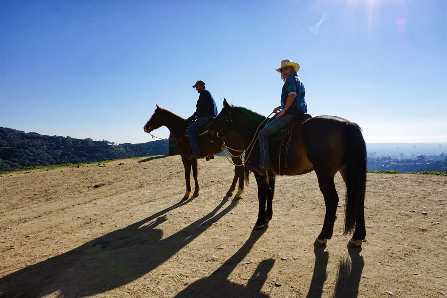 Horseback Riding in Griffith Observatory Park