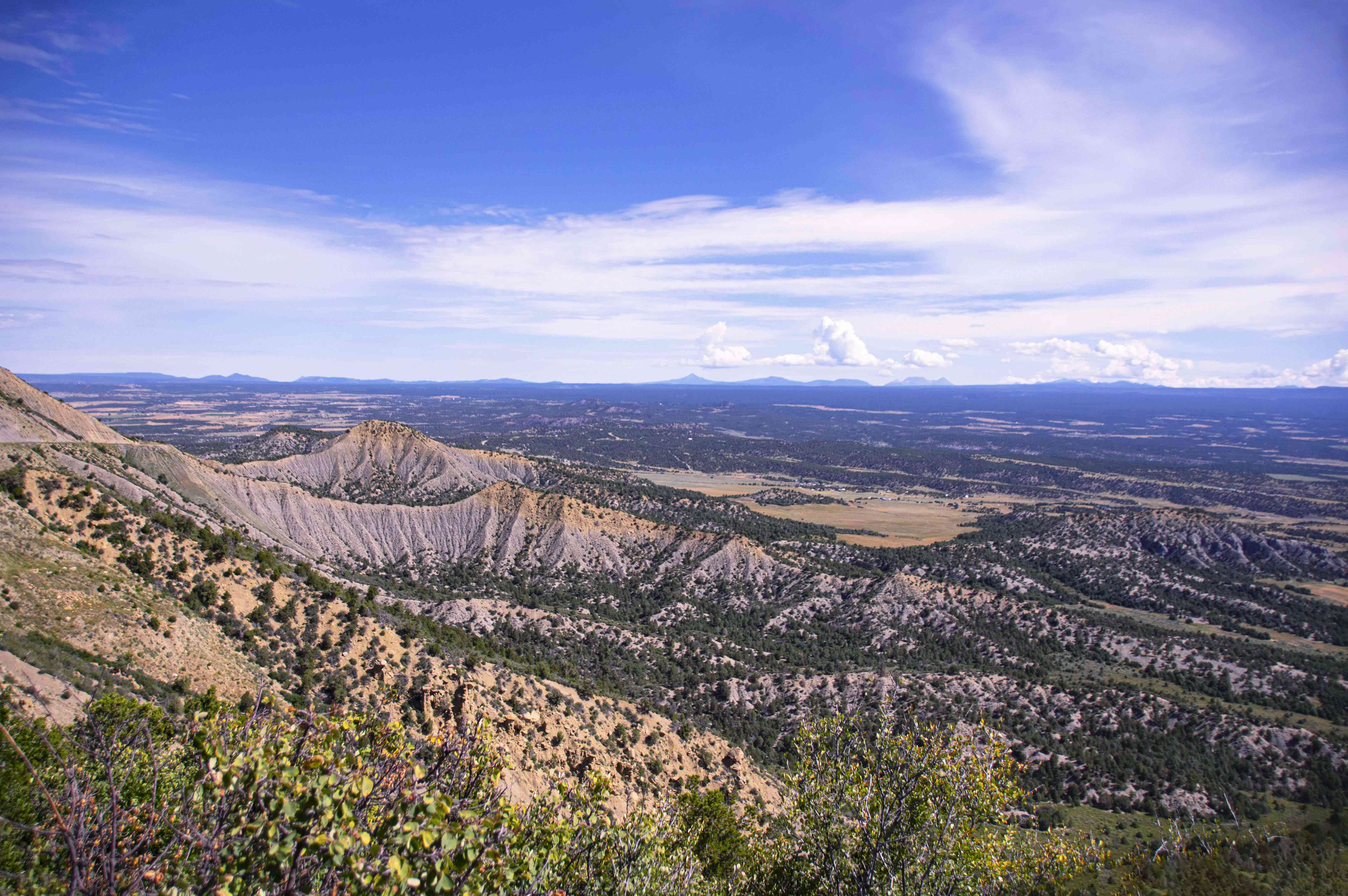 Landscape of Mesa Verde