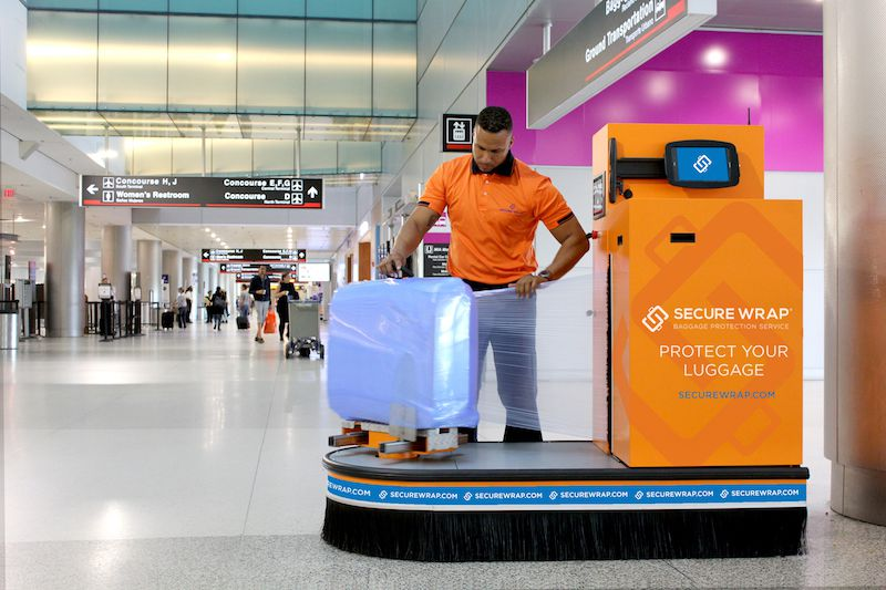 Baggage Wrapping Service Offers Travelers Peace Of Mind