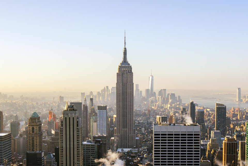 NYC skyline - Empire State Building