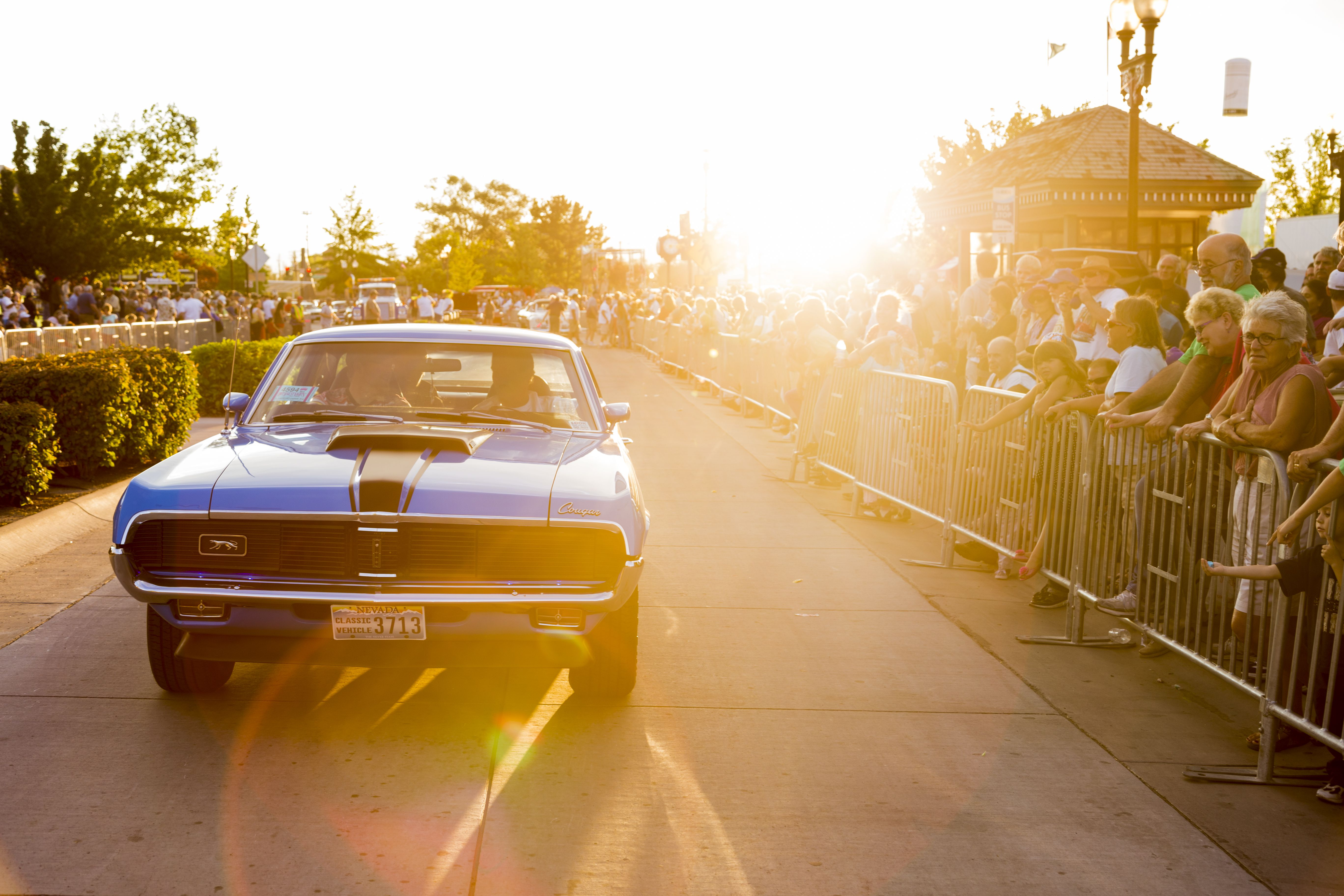 Hot August Nights Cruise in Sparks Nevada