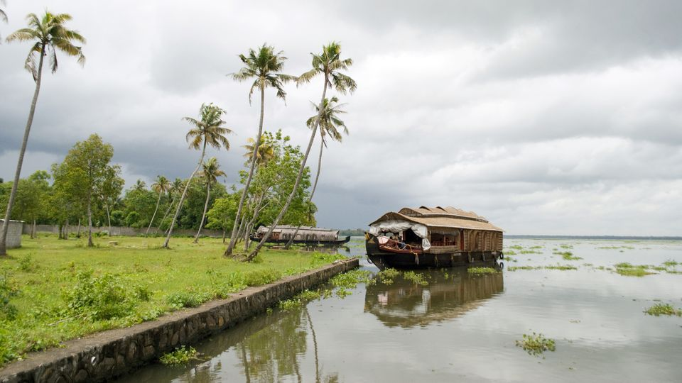 Kerala during the monsoon.