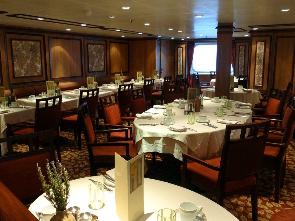 La Terraza Italian Restaurant on the Silversea Silver Spirit