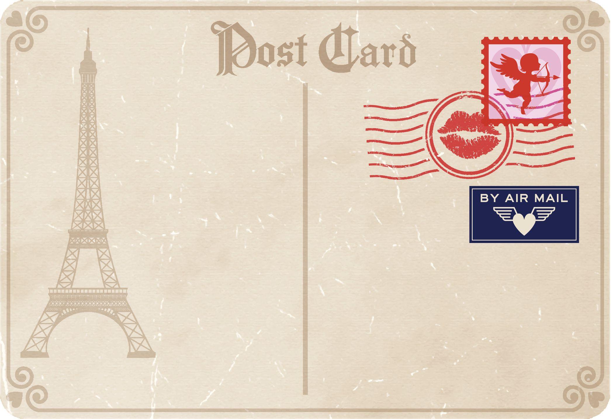 Как подписать открытки на французском, иверской