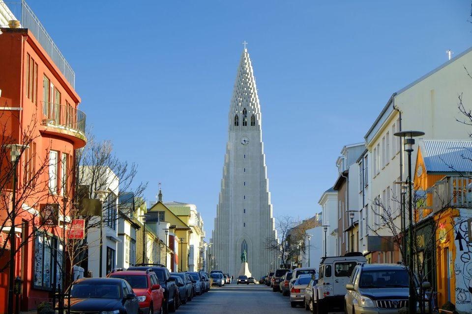 The Hallsgrimkirkja Church, Reykjavic, Iceland