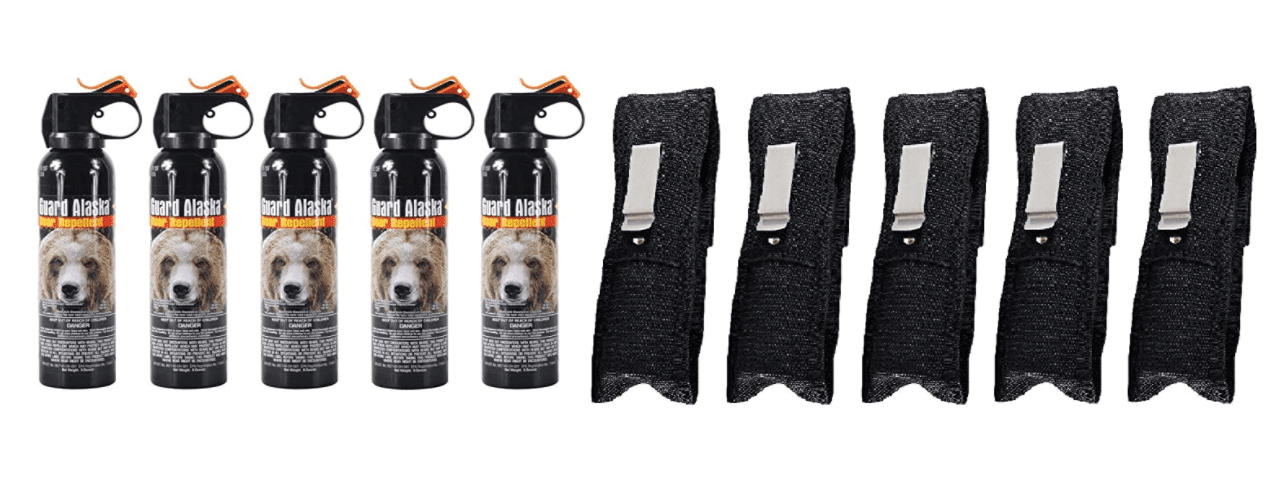 Multi-pack bear spray