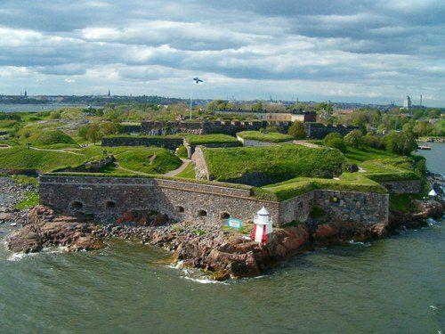 Suomenlinna Fortress in Finland