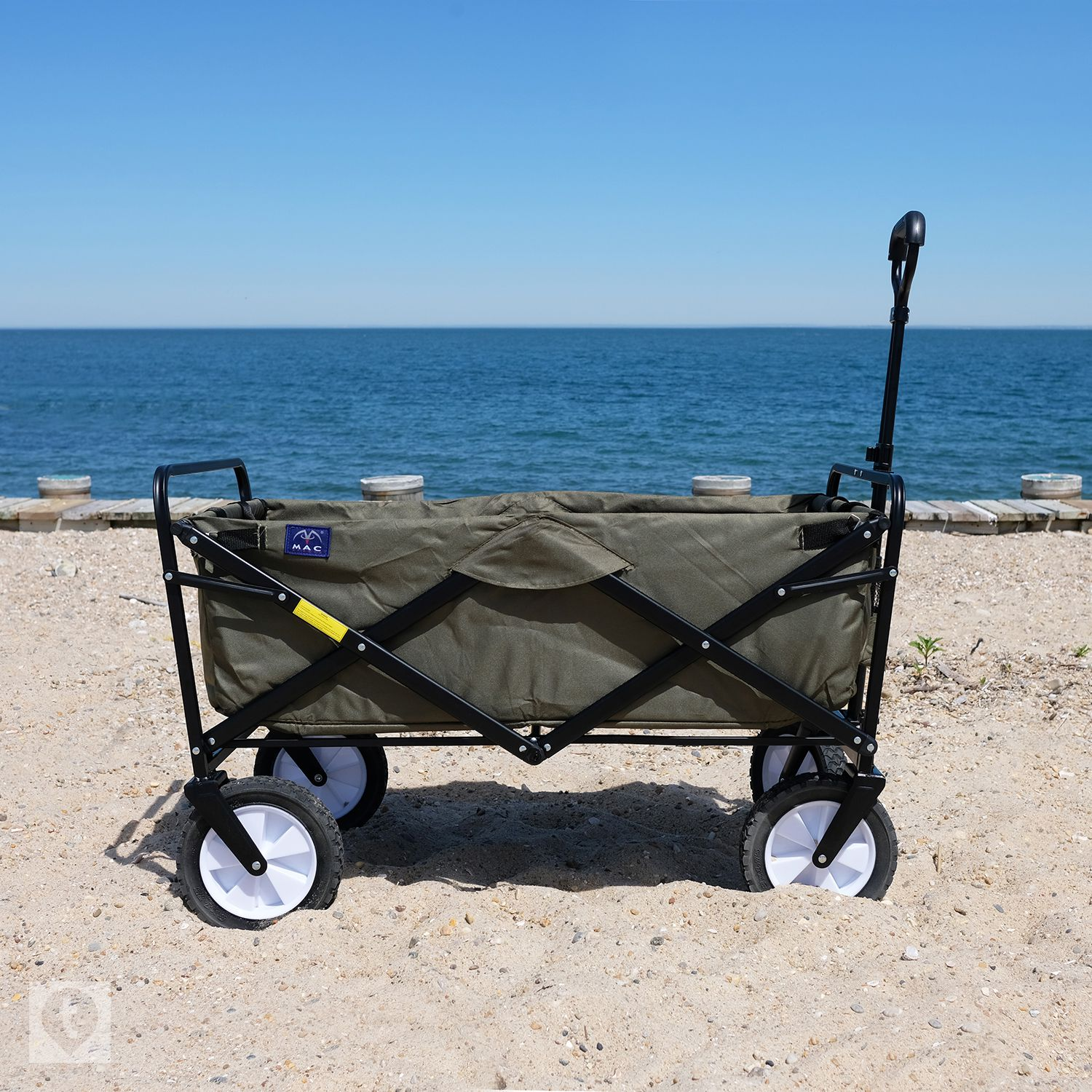 Macsports Outdoor Utility Wagon Review Great For Beach Gear