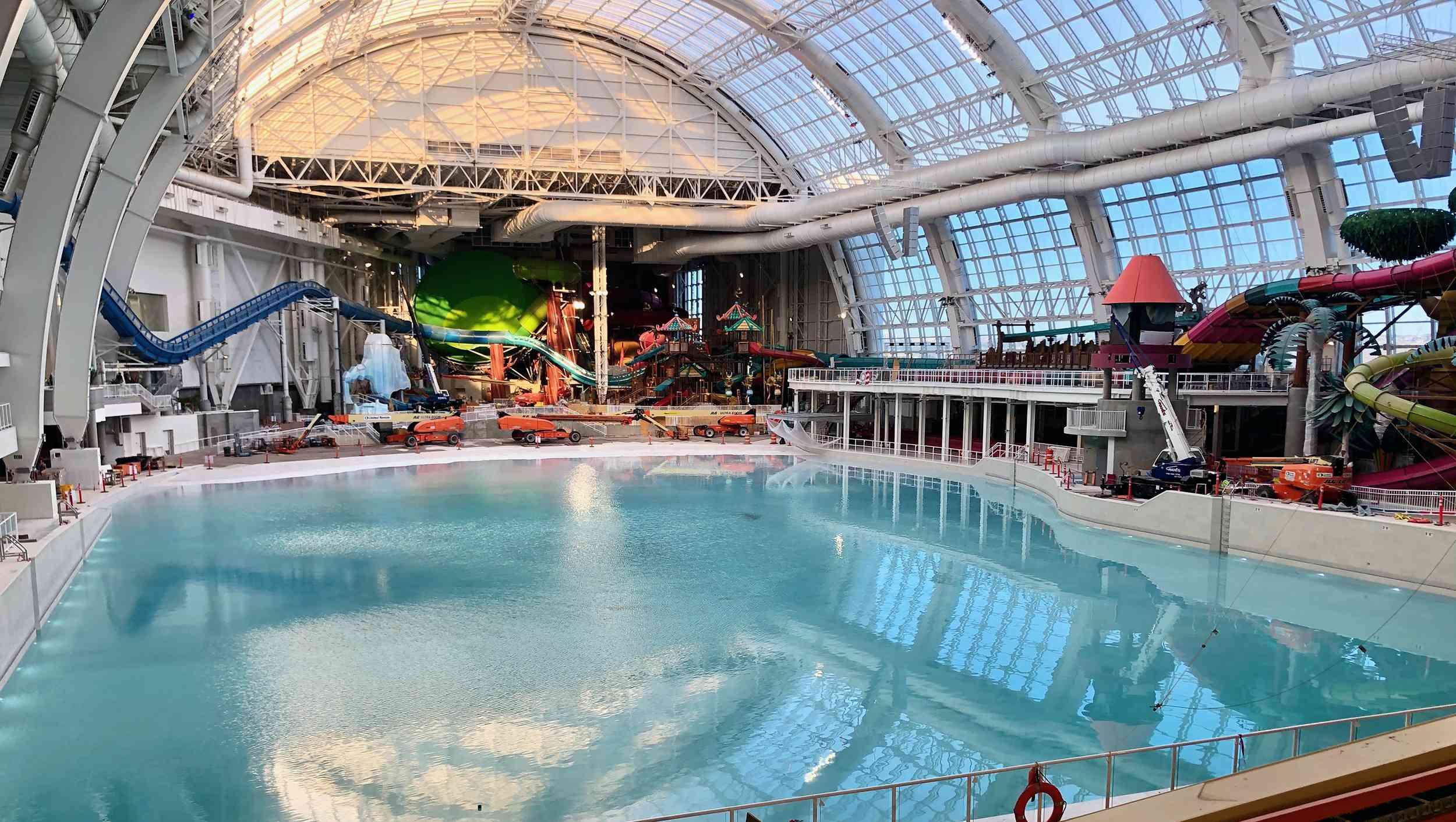 Parque acuático cubierto DreamWorks de Nueva Jersey