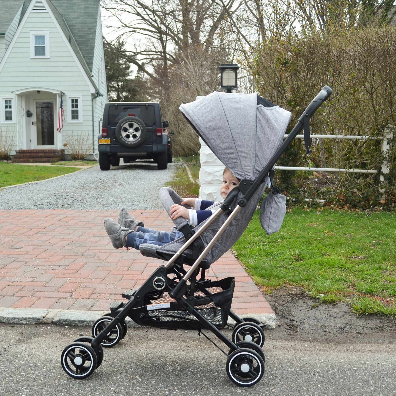 Besrey Airplane Capsule Lightweight Baby Stroller Review
