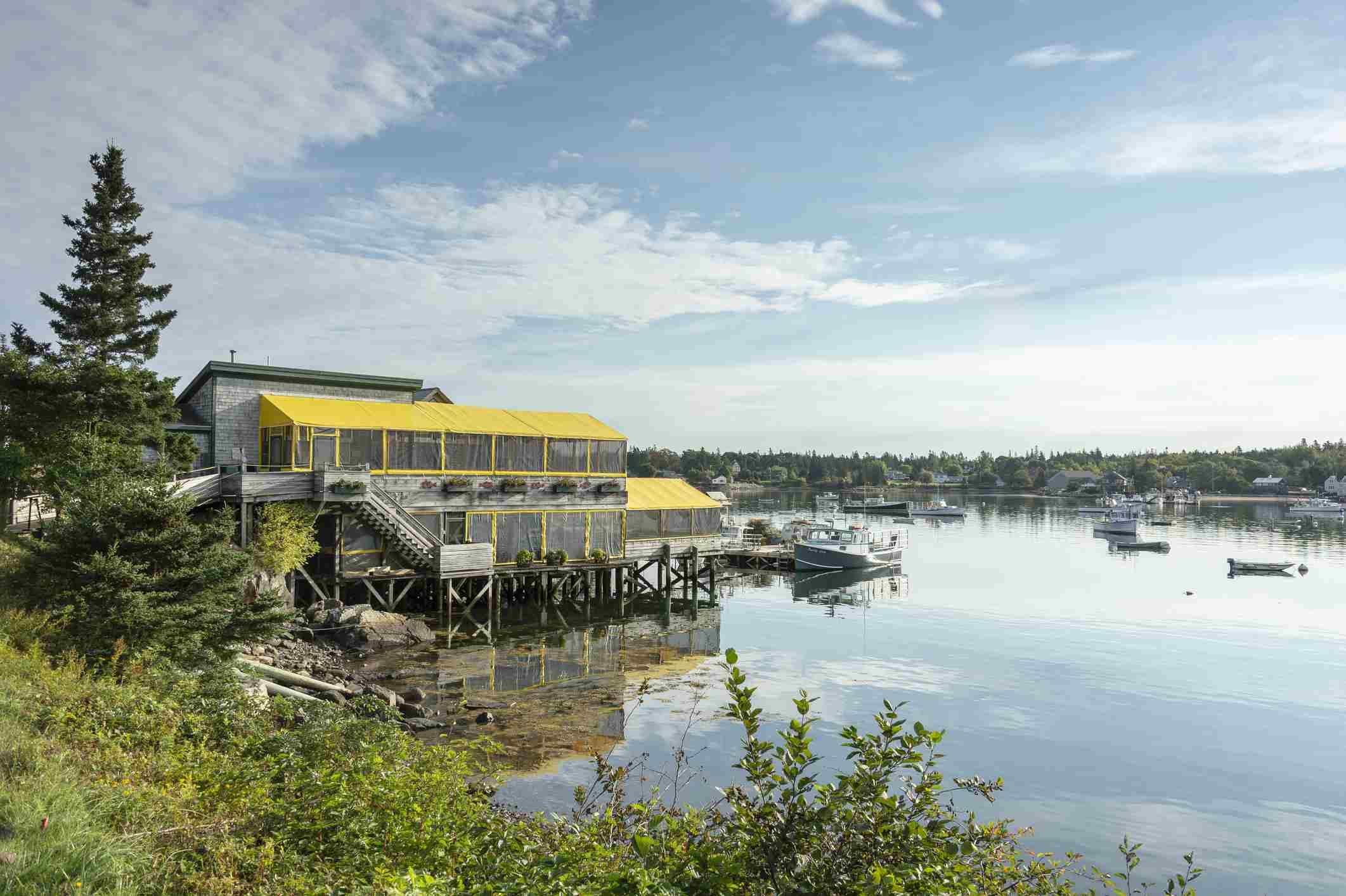 Thurston's Lobster Pound Near Bar Harbor Maine