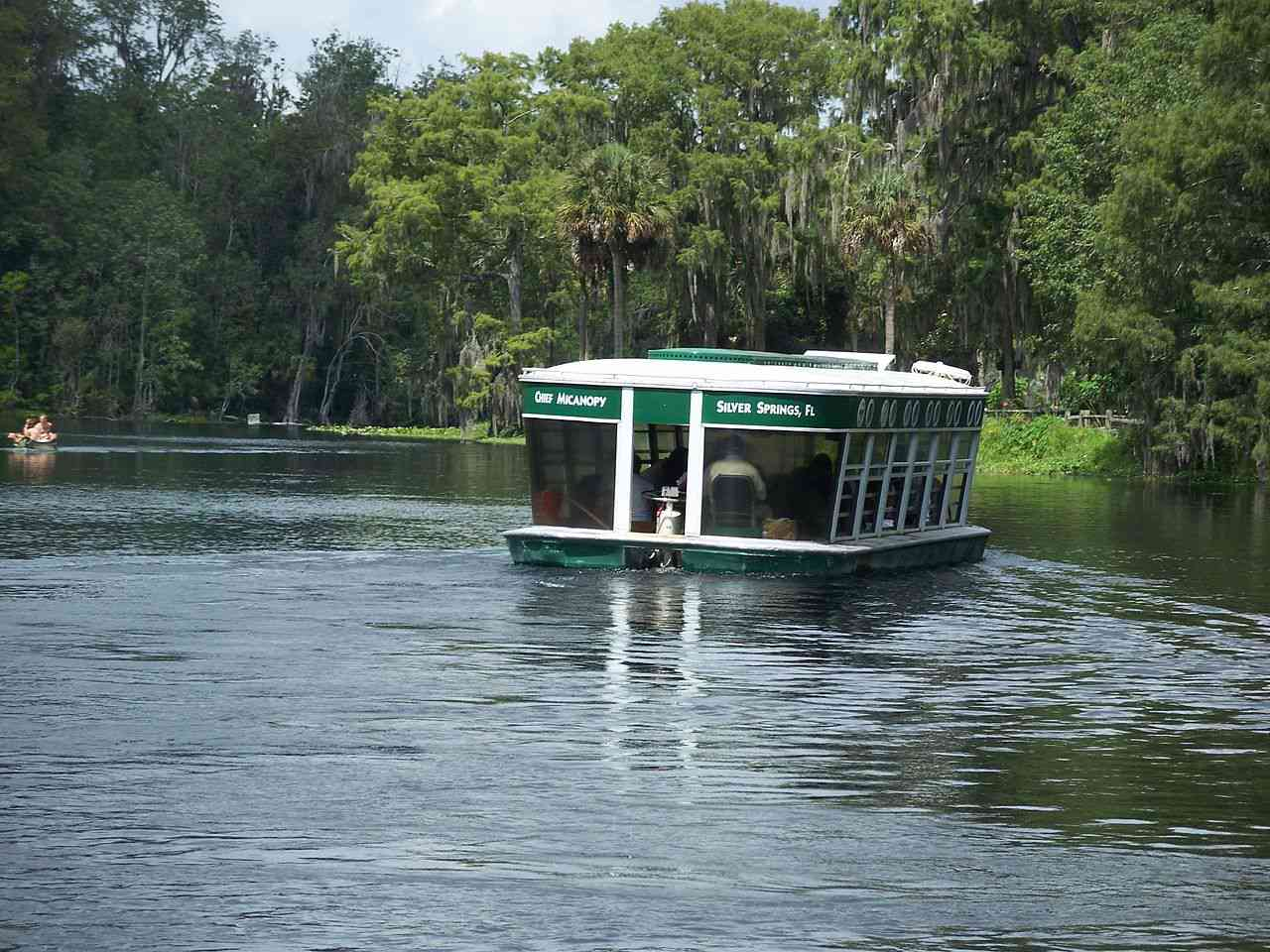 Silver Springs Nature Theme Park: One of the glass-bottom boats