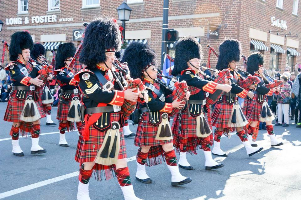 Campagna Center Scottish Christmas Walk Parade, Alexandria, VA