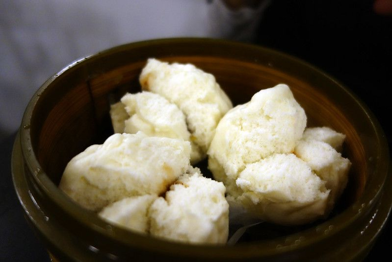 Steamed buns from Mama Ji's