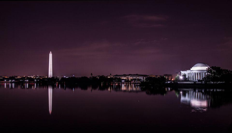 Washington DC en la noche