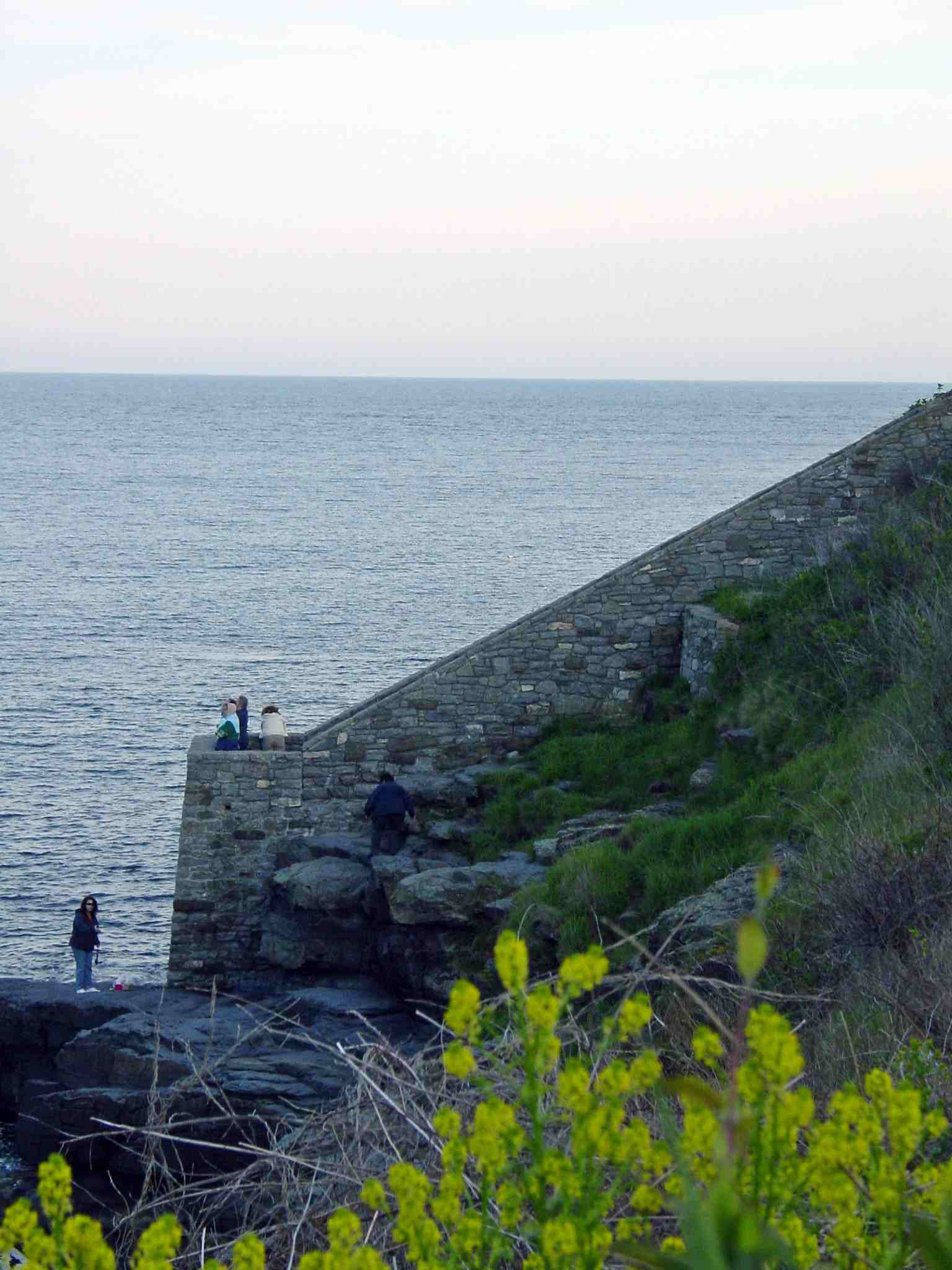 Newport Cliff Walk - Forty Steps