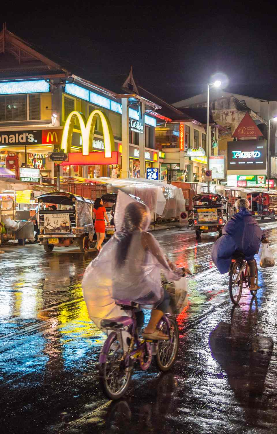 Rainy Night in Chiang Mai