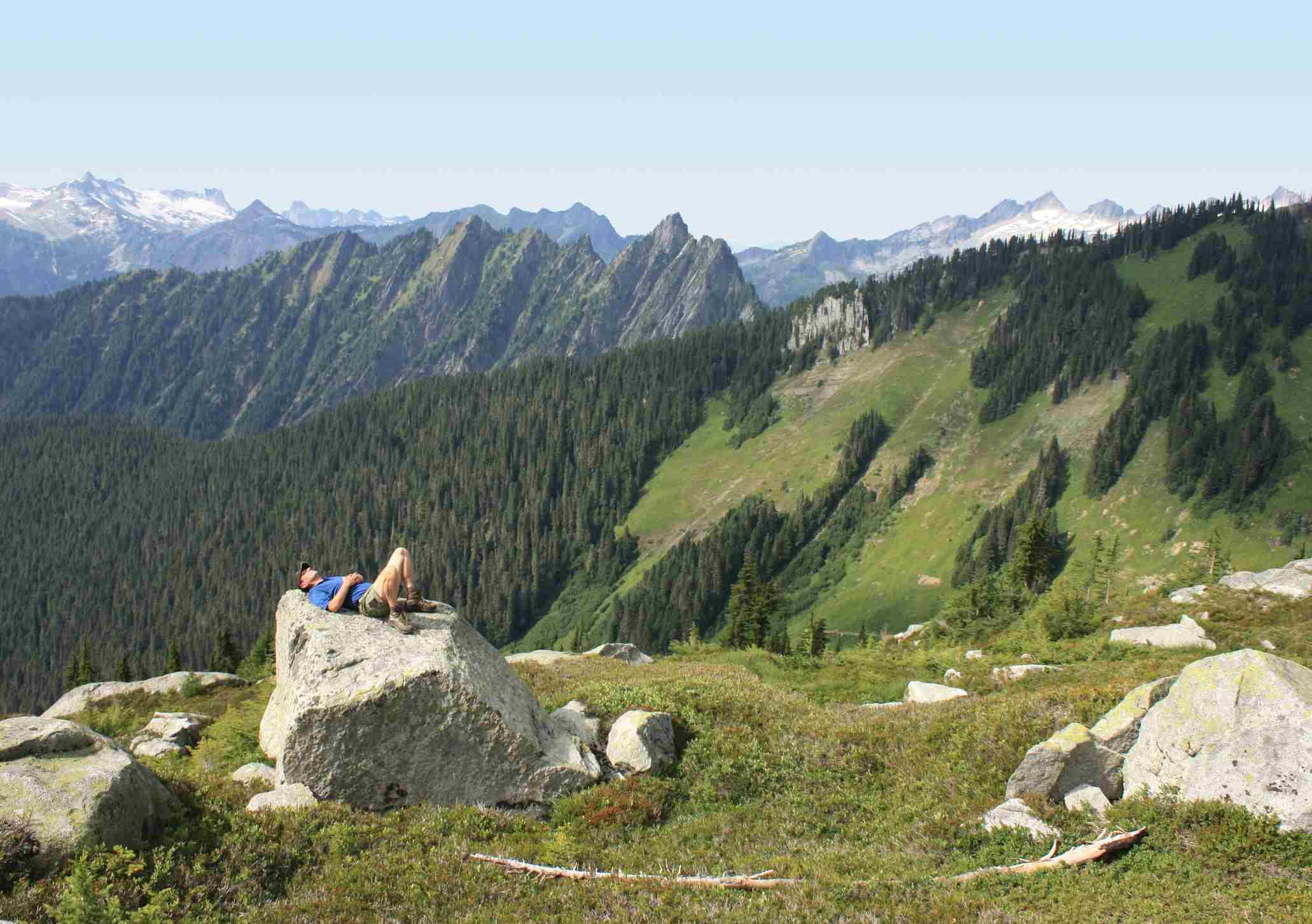 Trail to Hidden Lake Peaks en Marblemount, Washington
