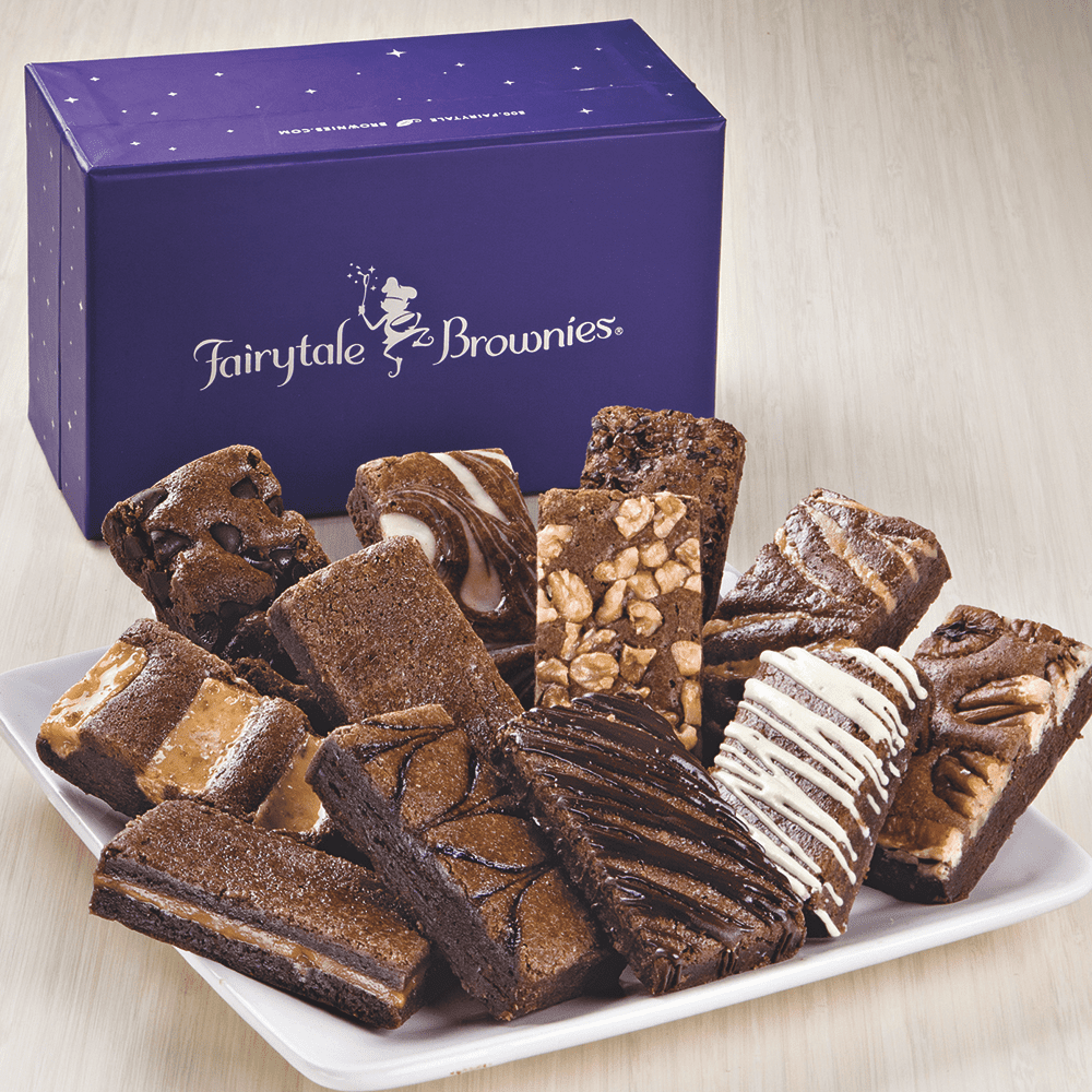 fairytale brownies and their box