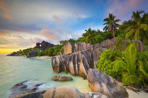 Anse Source d'Argent beach, La Digue, The Seychelles