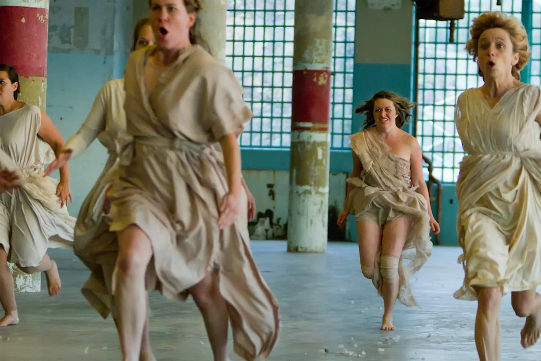 We Players Perform Hamlet at Alcatraz