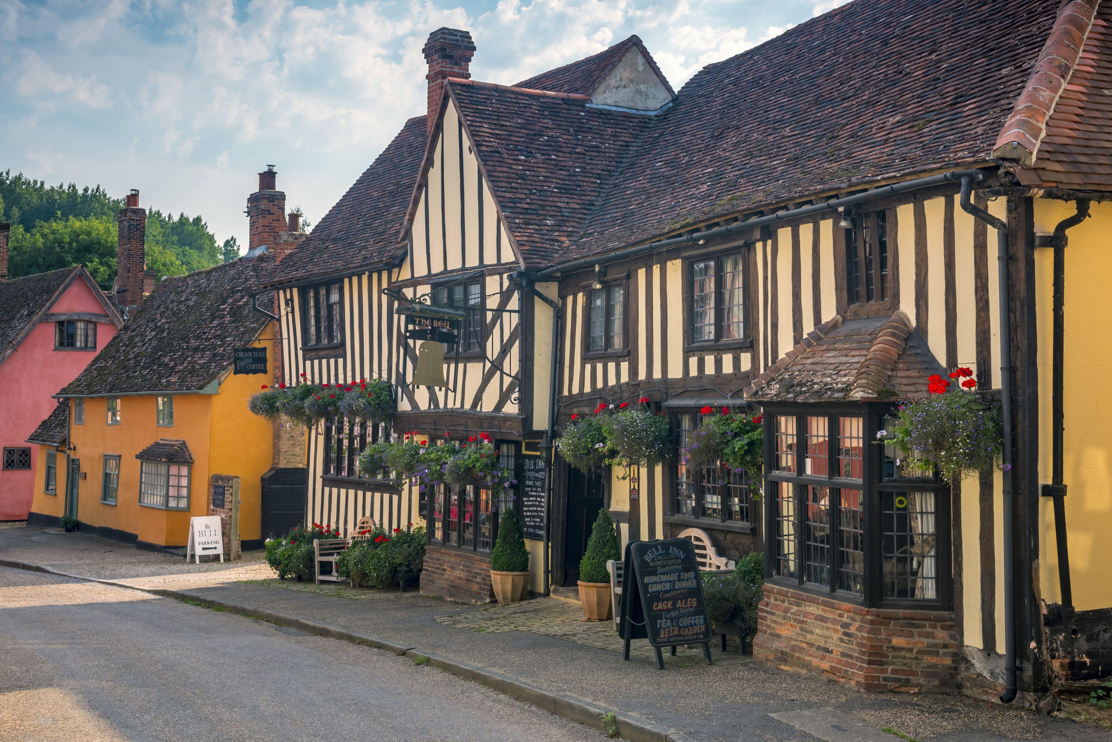Kersey, Suffolk, England, United Kingdom