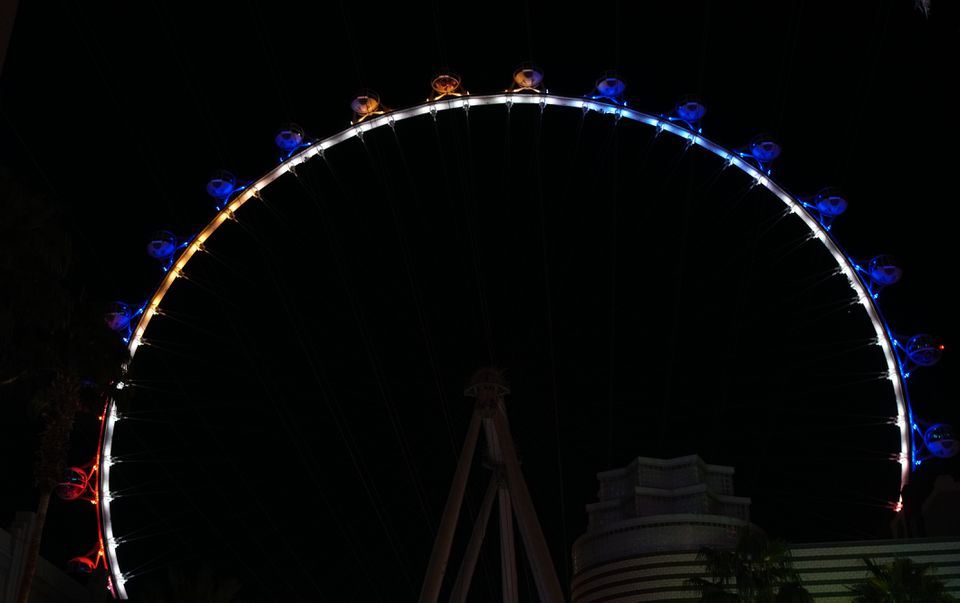 The High Roller in Las Vegas, Nevada