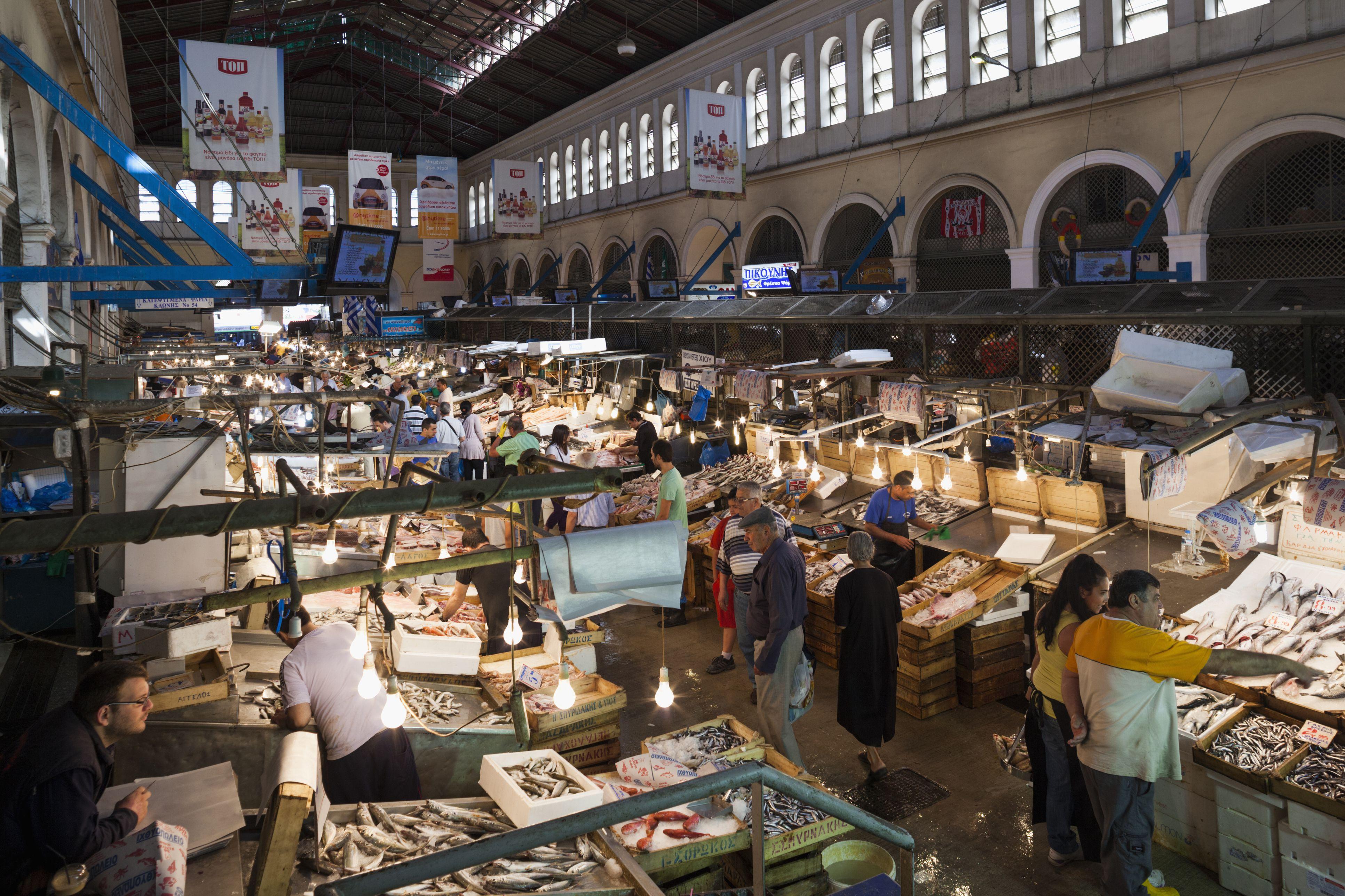 Greece, Athens, Central Market