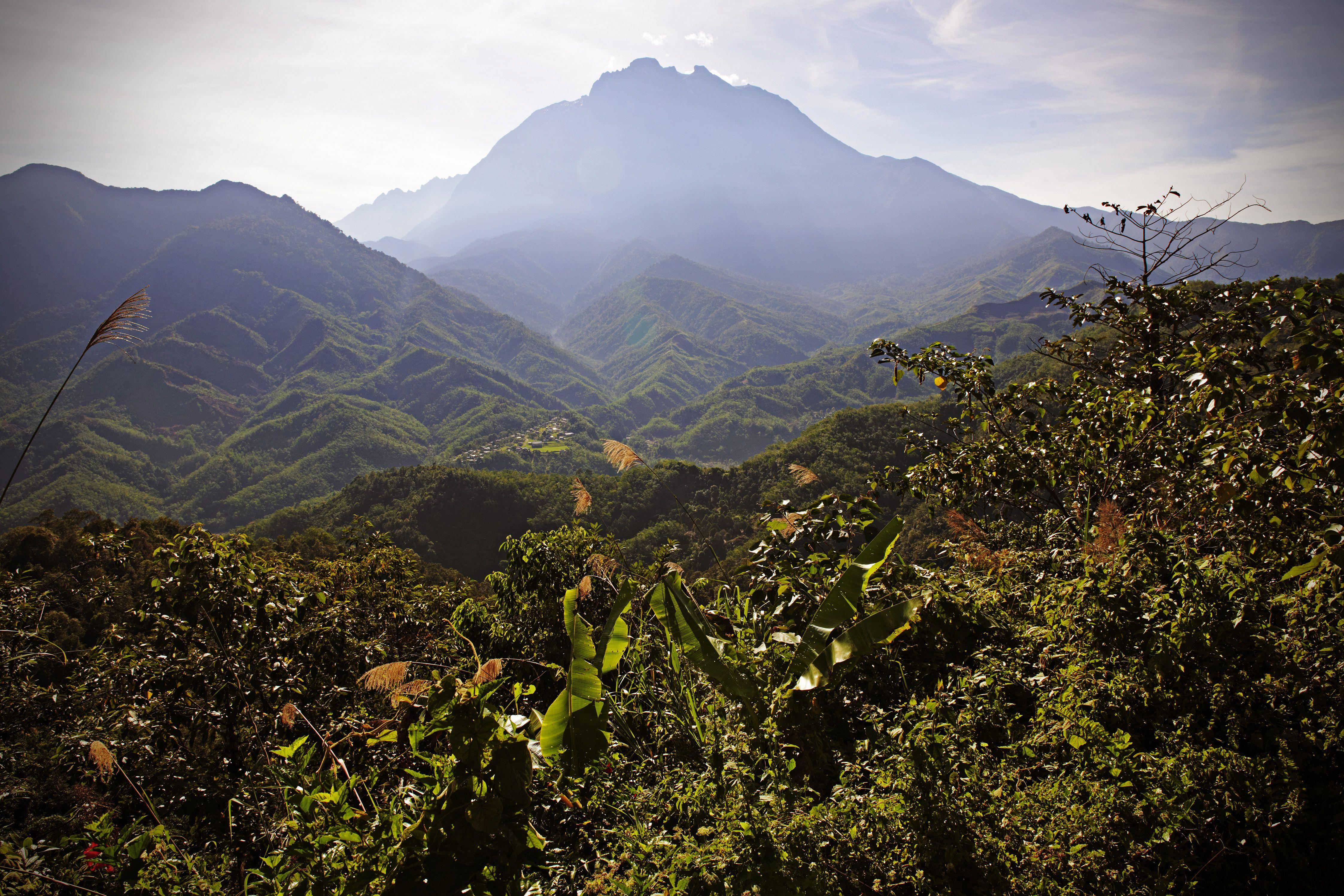 Mount Kinabalu in Sabah, Borneo