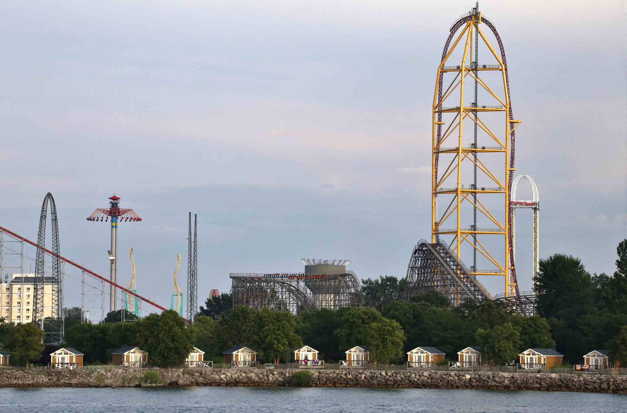 Cedar Point in Sandusky Ohio