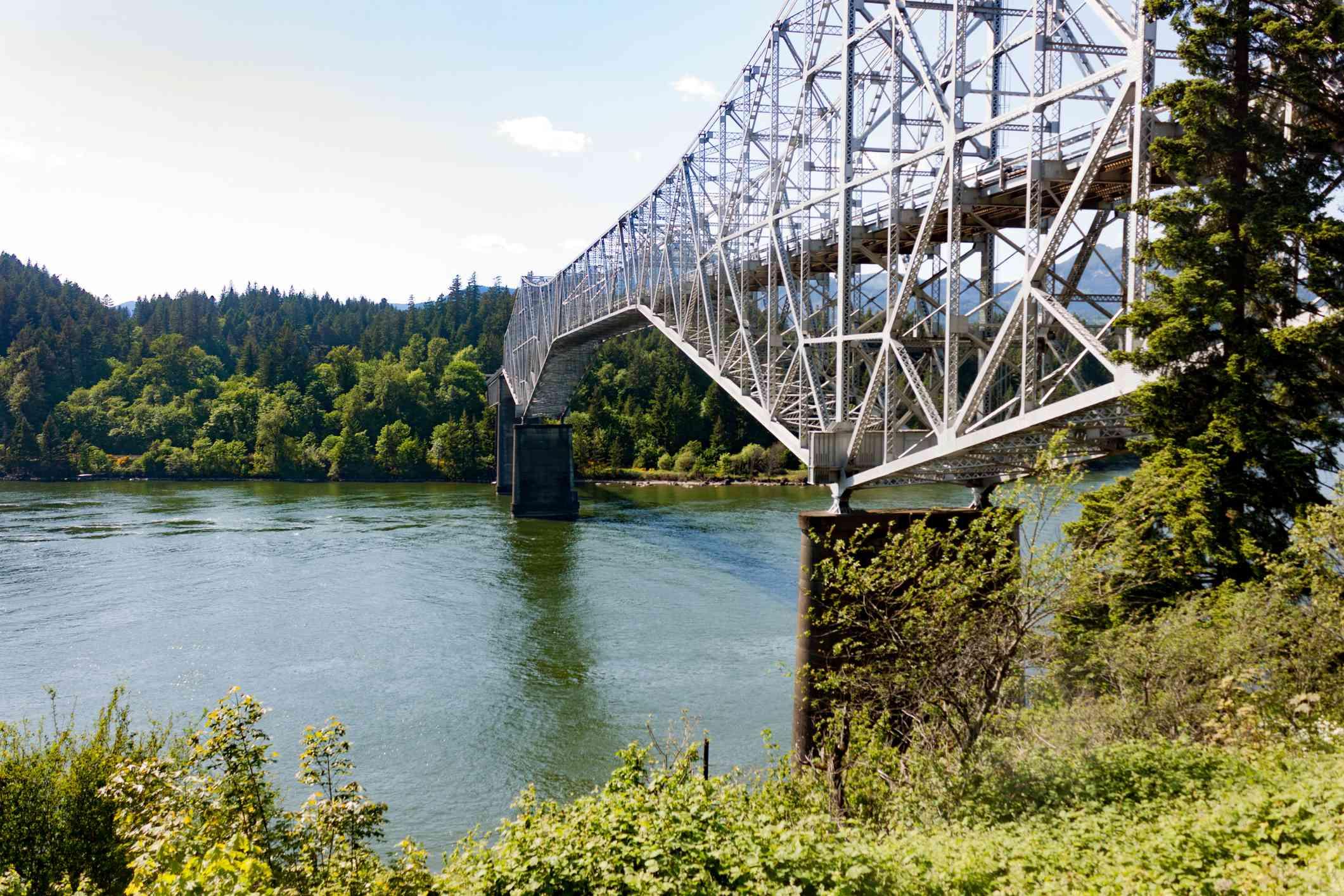 Washington Crossing Historic Park bridge