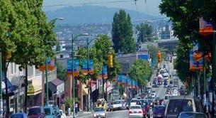 West 4th, Kitsilano, BC