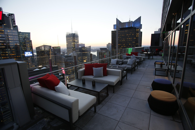Bar 54 rooftop bar view