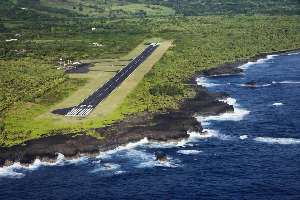 Hana Airport on Maui